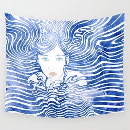 Water Nymph XLIII Wall Tapestry