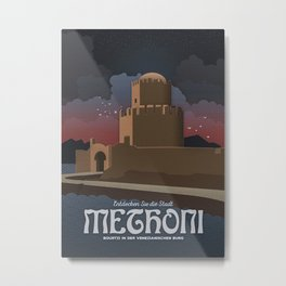 Methoni Castle Metal Print
