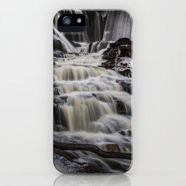 Majestic waterfall iPhone Case