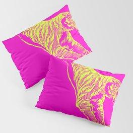 Tiger Running Pillow Sham