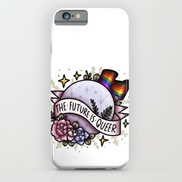 The Future Is Queer iPhone Case