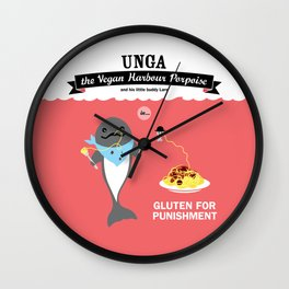 Gluten for Punishment Wall Clock