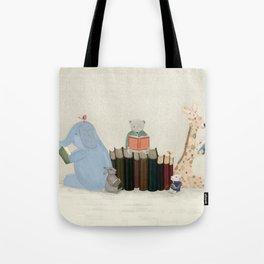 little readers Tote Bag