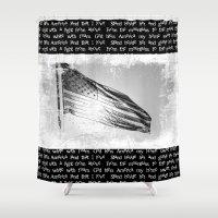america Shower Curtains featuring America by Brandi Korte