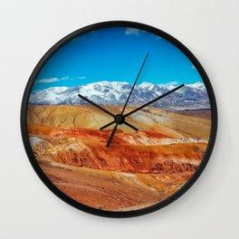 Altai Mountains Valley, Kizil-chin Wall Clock