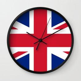 United Kingdom: Union Jack Flag Wall Clock