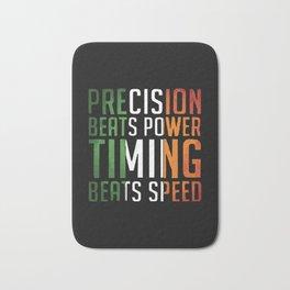Conor McGregor Precision Beats Timing Bath Mat