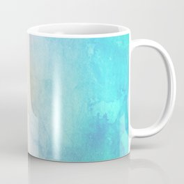 Fire and Ice - Watercolor Painting Coffee Mug