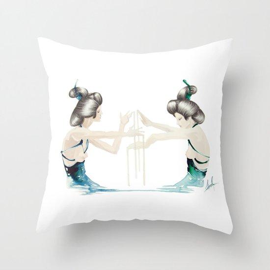Accomplice Throw Pillow