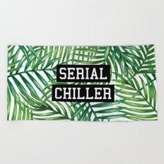 Serial Chiller Beach Towel