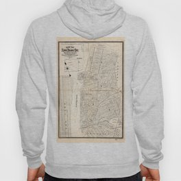 Map of Long Island City, Queens County, New York (1874) Hoody