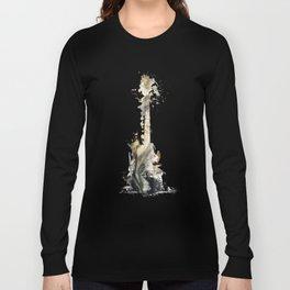 Blues Guitar Long Sleeve T-shirt