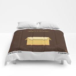 No233 My Seven minimal movie poster Comforters