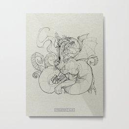 CTHULATHON: 84 Metal Print