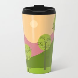 Kawai landscape breaking Dawn Travel Mug