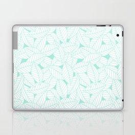 Leaves in Ocean Laptop & iPad Skin