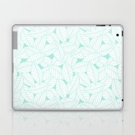 Leaves in Ocean Laptop & iPad Skin