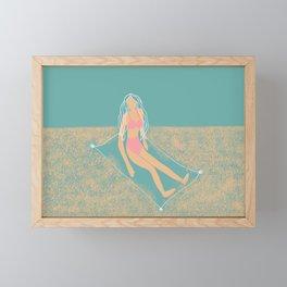 Sandy Toes Framed Mini Art Print