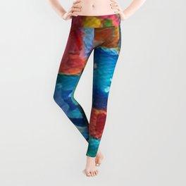 Hula Girl Leggings