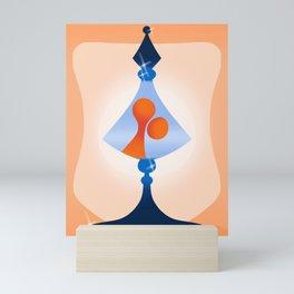 lava lamp Mini Art Print
