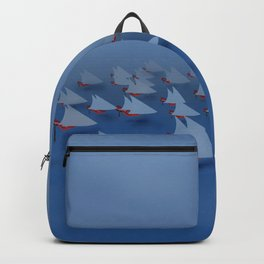 May visiting East - shoes stories Backpack