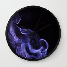 veil of smoke Wall Clock