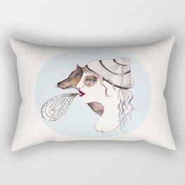 Cassandra two: sly. Rectangular Pillow