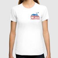 america T-shirts featuring America by corsetti