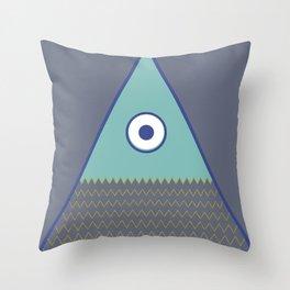 Never ending fish 1 part 1 Throw Pillow