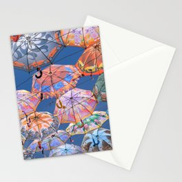 Umbrella Canopy 2 Stationery Cards
