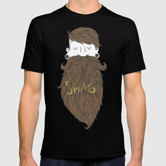 Beard Swag (Highlights) T-shirt