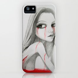 keep on rotting in the free world iPhone Case