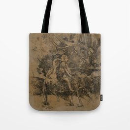 Cavalier, or the Flight Tote Bag