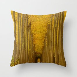 Tree Soldiers Throw Pillow
