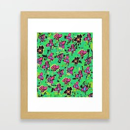 The Power Of The Flower Framed Art Print
