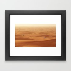 Just Drive Framed Art Print