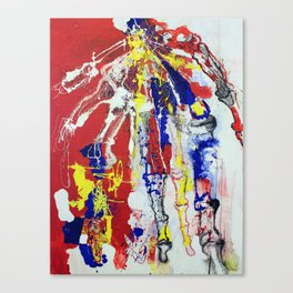 Lefty  Canvas Print
