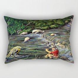 A Richly Find: Deadwood Gold Strike 1874 Rectangular Pillow