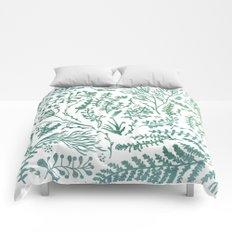 GREEN HERBS Comforters