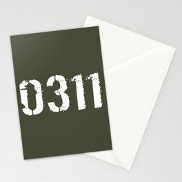 Infantry - 0311 Stationery Cards