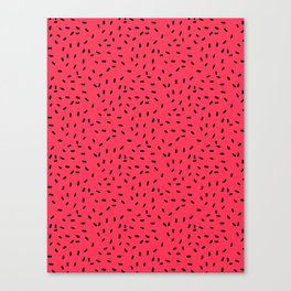 Strawberry Seeds Canvas Print