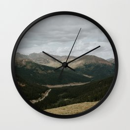 Loveland Pass, Colorado Wall Clock