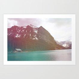Dreamy Lake Louise Art Print