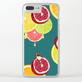 tropic fruit Clear iPhone Case