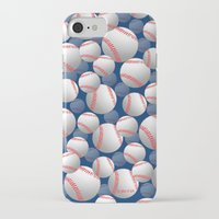 baseball iPhone & iPod Cases featuring Baseball by joanfriends