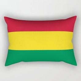 Flag of bolivia-bolivian,spanish,america,south america,latin america,coffee,Santa cruz,Sucre,La paz  Rectangular Pillow