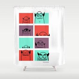 The Shady Bunch Shower Curtain