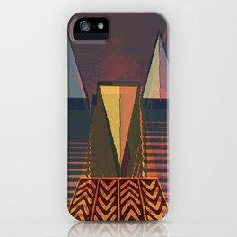 RetroFuture / Evolution-03 iPhone Case