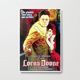 Vintage poster - Lorna Doone Metal Print
