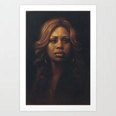 Laverne Cox Art Print